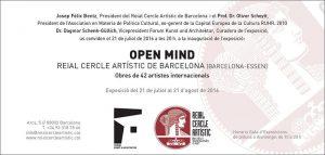 Open Mind, Barcelona 2016