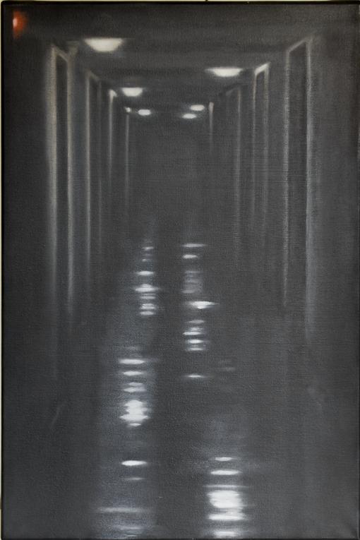 CITE DES ARTS, COULOIR DU PREMIER ETAGE, 2013