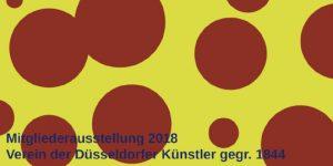 kunstpunkte, Mitgliederausstellung 2018 Düsseldorf