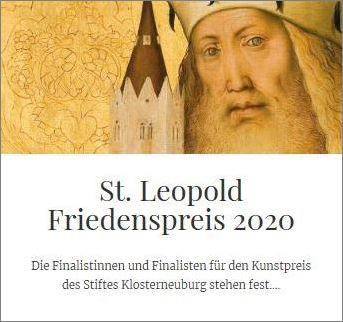 St. Leopold Friedenspreis 2020